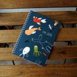 Дизайнерски календарен тефтер 'Моята 2018', Бяла Лодка