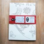 Плакат за оцветяване 'Коледа' /100х70см/, Бяла лодка
