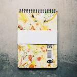 Тефтер за писане и рисуване от 100% рециклирана хартия без редове 'Beautiful Mess 01', Бяла лодка