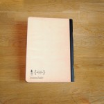 Тетрадка А5 с редове 'Ретро' от рециклирана хартия 'Бяла лодка', 40 листа