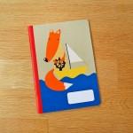 Тетрадка А5 с широки редове 'Лисица в морето' на Ася Колева от Бяла лодка, 40 листа