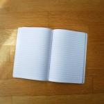 Тетрадка А5 с широки редове 'Ябълки' на Ася Колева от Бяла Лодка, 40 листа