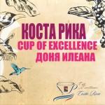 Коста Рикa /ферма Доня Илеана/ - международен победител на Cup Of Excellence от DABOV Specialty Coffee - прясно изпечена арабика сорт Катура, 200g