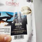 Бразилия Ситио До Боне #7 COE 2017 - прясно изпечена арабика 'DABOV Specialty Coffee' с вкус на праскови, кафява захар и жасмин, 200g