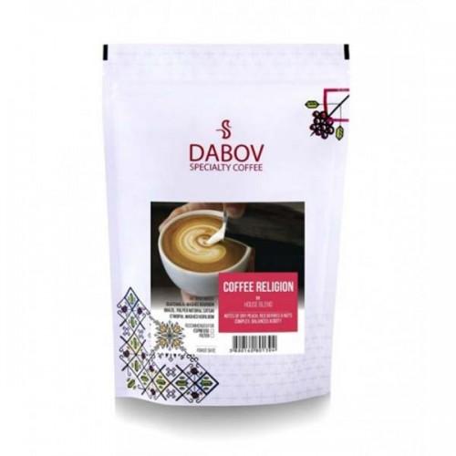 Еспресо смес COFFEE RELIGION House Blend /червен етикет/ - 100% кафе Арабика, DABOV Specialty Coffee - с нотки на праскови и аромат на мед и ядки, 200г