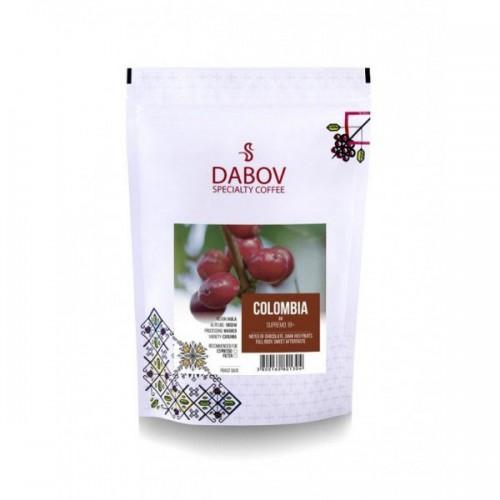 Колумбия Супремо /кафяв етикет/ 'DABOV Specialty Coffee' - прясно изпечено кафе Арабика сорт Катура с аромат на цитрус и череши, 200g
