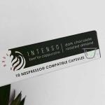 Капсули DABOV Specialty Coffee /NESPRESSO® съвместими/ 100% арабика бленд 'INTENSO' за капучино, 10 бр.