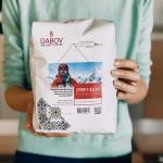 Спортен бленд на Стефан Стефанов от 100% кафе арабика /червен етикет/ с вкус на какаови зърна и сладък портокал 'DABOV Specialty Coffee', 1 кг