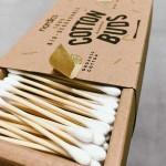 Бамбукови клечки за уши /био-разградими/ със 100% био памук 'Nordics', 200 бр.