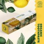 Избелваща био паста за зъби с Лимон и Алое Вера /веган, БИО, без захар/ 'Nordics Oral Care', 75 мл