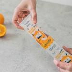 Детска паста за зъби с портокал и мандарина /без флуор и захар/ 0-4 г 'Nordics Oral Care'