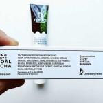 Избелваща паста за зъби без флуор с въглен и матча /черна на цвят/ 'Nordics Oral Care', 75ml
