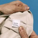 Памучна торба 'LOVE YOURSELF / EAT PRAY LOVE GROW' с дъно и дълги дръжки