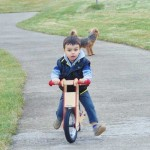 Детско дървено колело без педали /колело за баланс/ Pipello