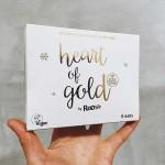 Heart of Gold - лимитирана кутия от 6 сурови бара с портокал, манго и черен шоколад Roo'Bar 6х30 g