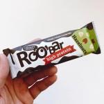 Протеинов бар с Лешници, покрит с шоколад /веган, био/ Roo'bar, 40 г
