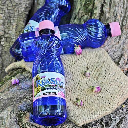 Розова вода за пиене /за Храносмилателната, Отделителната и Нервната системи/ 'Rea Sevt', 500ml