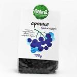 Арония /сушена на дърва/ без добавена захар и серен диоксид  'SERENA', 100 гр.