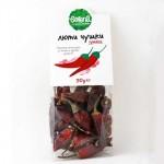 Люти чушки /червени, сушени на дърва/ 'SERENA', 50 гр.