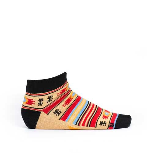 Чорапи Stinky Socks 'Blue Eye Small' - къси и тънки с антибактериално покритие, вдъхновени от българския фолклор