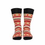 Чорапи Stinky Socks 'Blue Eye' - ежедневни с антибактериално покритие, вдъхновени от българския фолклор