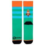 Чорапи Stinky Socks 'Martian' с антибактериално покритие, вдъхновени от лятото