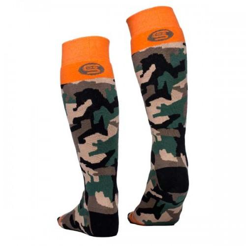 Чорапи Stinky Socks 'Camo' с антибактериално покритие, вдъхновени от гората и дълбокия сняг