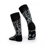 Чорапи Stinky Socks 'Third Eye' с антибактериално покритие, вдъхновени от ръчно изкопаните кристали