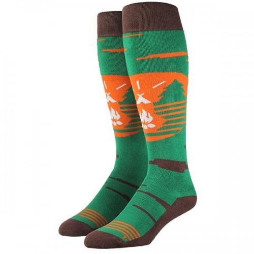 Чорапи Stinky Socks 'UNPLUGGED' - средно високи с антибактериално покритие, вдъхновени от дивата природа