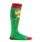 Чорапи Stinky Socks 'Gremlinz' с антибактериално покритие, вдъхновени от дълбокия сняг