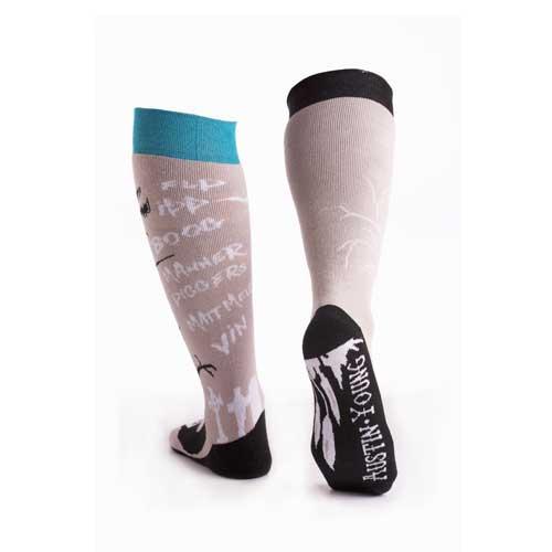 Чорапи Stinky Socks 'Austin Young & Jeffy Gabrick' с антибактериално покритие, вдъхновени от дълбокия сняг