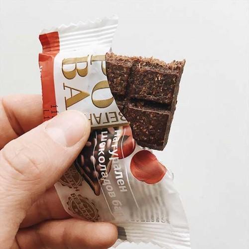 Сурова /мини/ - балансирано шоколадово барче с какао, 40 гр.