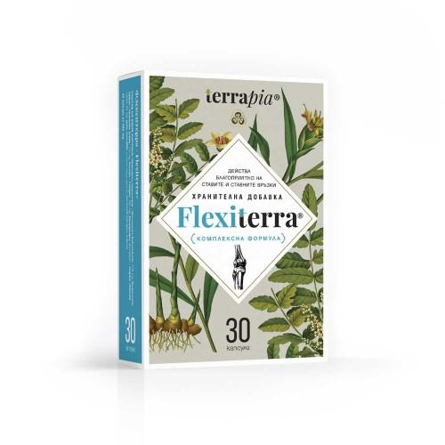 Комплексна биоактивна формула за укрепване на Ставите и Хрущялите 'Flexiterra', Terrapia