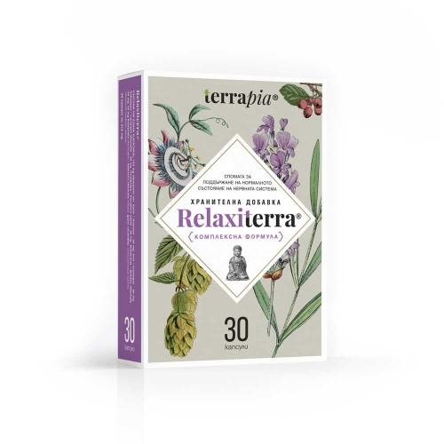 Комплексна биоактивна формула за Нервната система с Пасифлора, Хмел и Маточина 'Relaxiterra', Terrapia