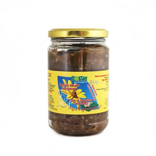 Конфитюр от био Земна ябълка /гулия, топинамбур/ със Стевия и Лимон, 300g