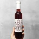 Малиново розе 'TRASTENA / ТРАСТЕНА' - Малини 50% + Шардоне и Мискет, 375ml