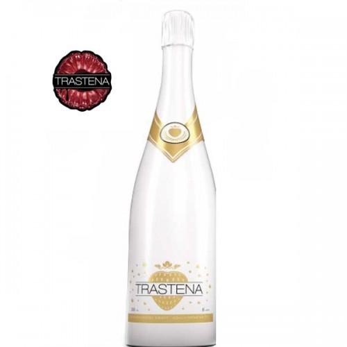 Шампанско 'TRASTENA' - освежаващо пенливо ягодово просеко, 750ml