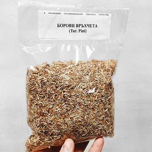 Борови връхчета за чай /Turiones Pini/ при кашлица, бронхити, простуда, 100 г