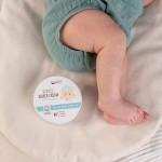 Бебешки крем против подсичане за зоната на пелената /био/ с цинков оксид и лайка 'Wooden Spoon', 15 мл