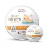 Бебешки крем за тяло 0+ с Бадем, Макадамия и Карите /био/ 'Wooden Spoon', 15 мл