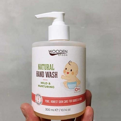 Детски натурален течен сапун за ръце с лавандула MILD & NURTURING 0+ 'Wooden Spoon', 300ml