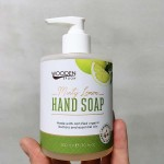 Течен сапун с органично масло от Мента и Цитронела 'Wooden Spoon', 300ml