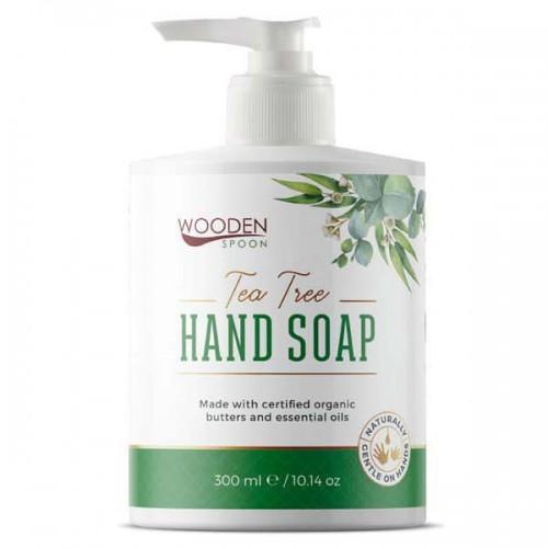 Течен сапун с органично масло от Чаено дърво 'Wooden Spoon', 300ml