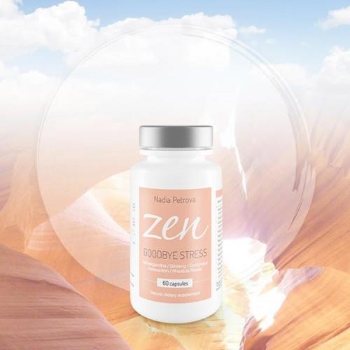 Хранителна добавка ZEN 'Goodbye Stress' с адаптогени и антиоксиданти, Надя Петрова