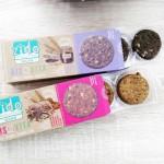 Пълнозърнести веган бисквити BISQVITA с Лимец, Фурми и Маково семе 'Zido'