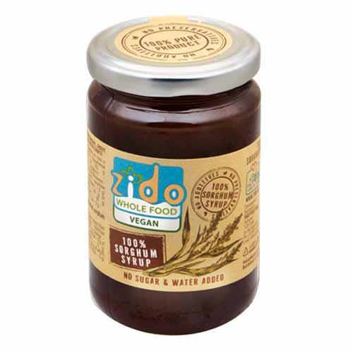 Концентриран сироп от Сорго /захарна метла/ - за подслаждане и разреждане 'Zido', 350g