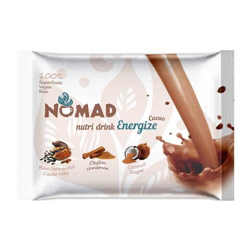 Разтворима протеинова напитка с Какаo и Ванилия 'NOMAD nutri Cacao'