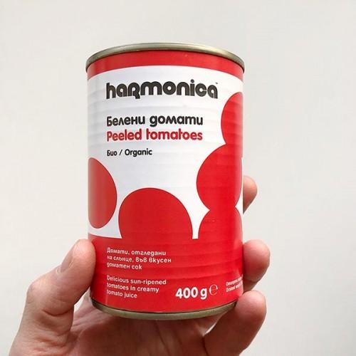 Белени домати /био, цели/ 'harmonica', 400 г
