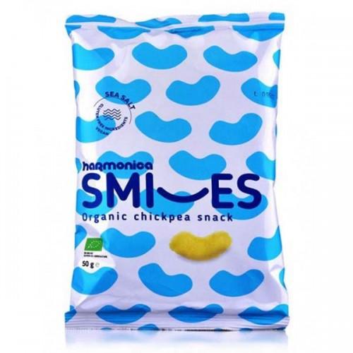 Нахутени пръчици с морска сол /безглутенови/ SMILES 'harmonica', 50 гр.