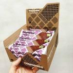 Вафла 'Chocobiotic' /био, хрупкава/ с брашно от Лимец, Пробиотици и Шоколад БИО 'harmonica', КУТИЯ 16 х 40g